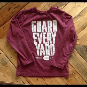 Guard Every Yard Long-Sleeved Tshirt